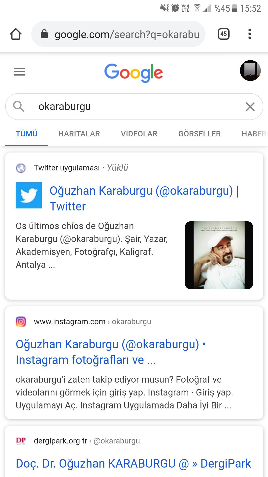 Oğuzhan Karaburgu Twitter