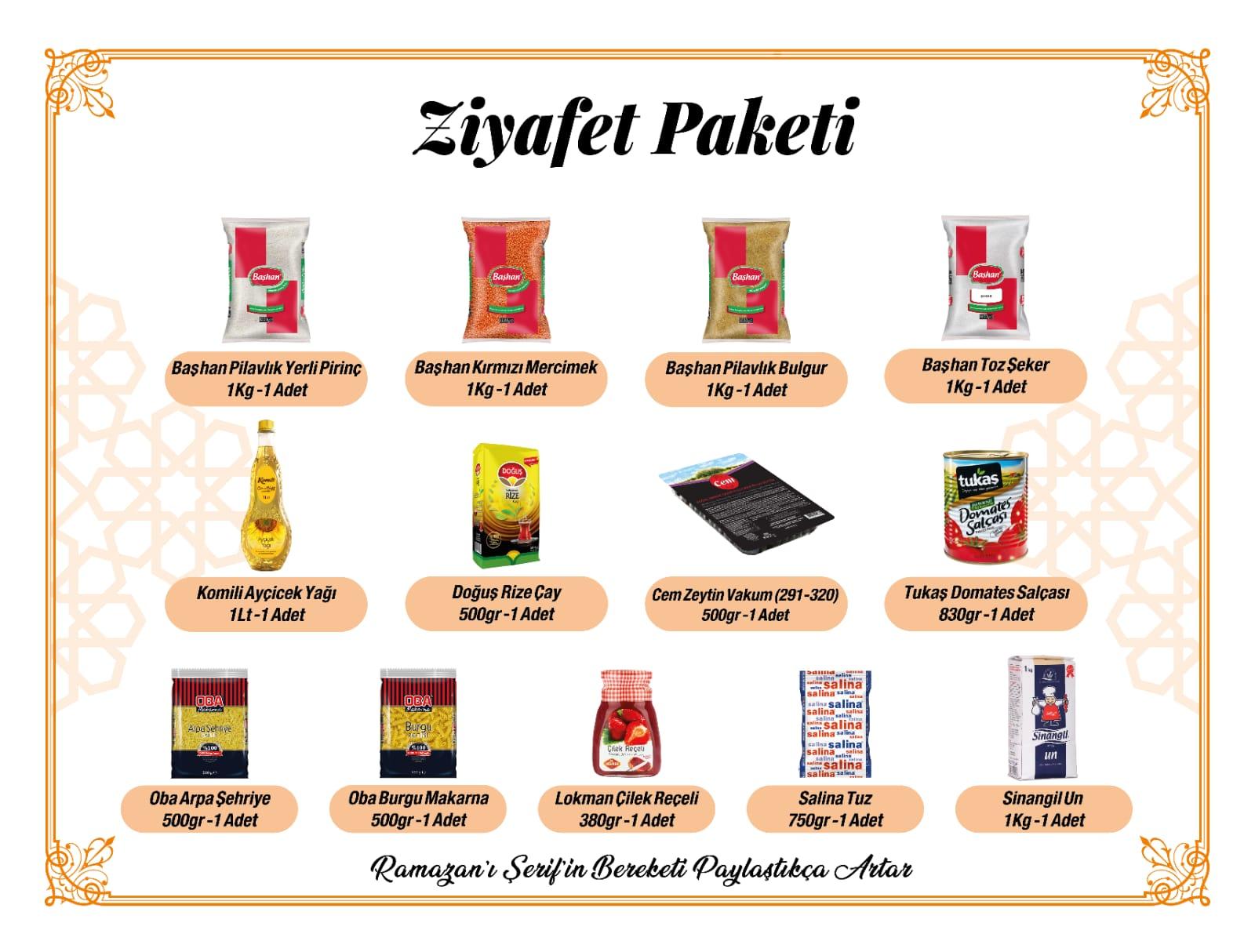 Arden Ziyafet Paketi