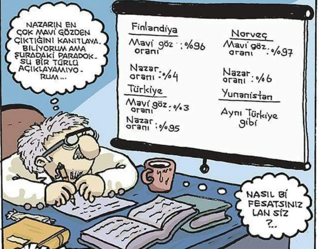 nazar karikatür albert einstein