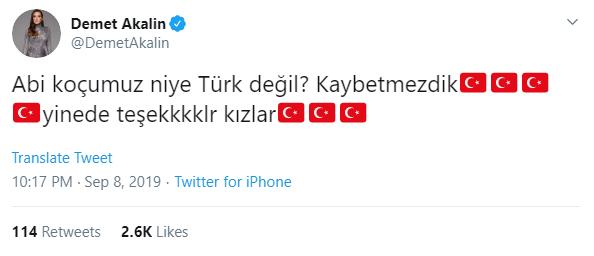demet akalın koçumuz niye türk değil?