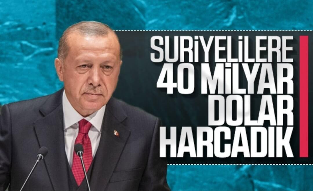 erdoğan suriyelilere milyar harcadık ile ilgili görsel sonucu