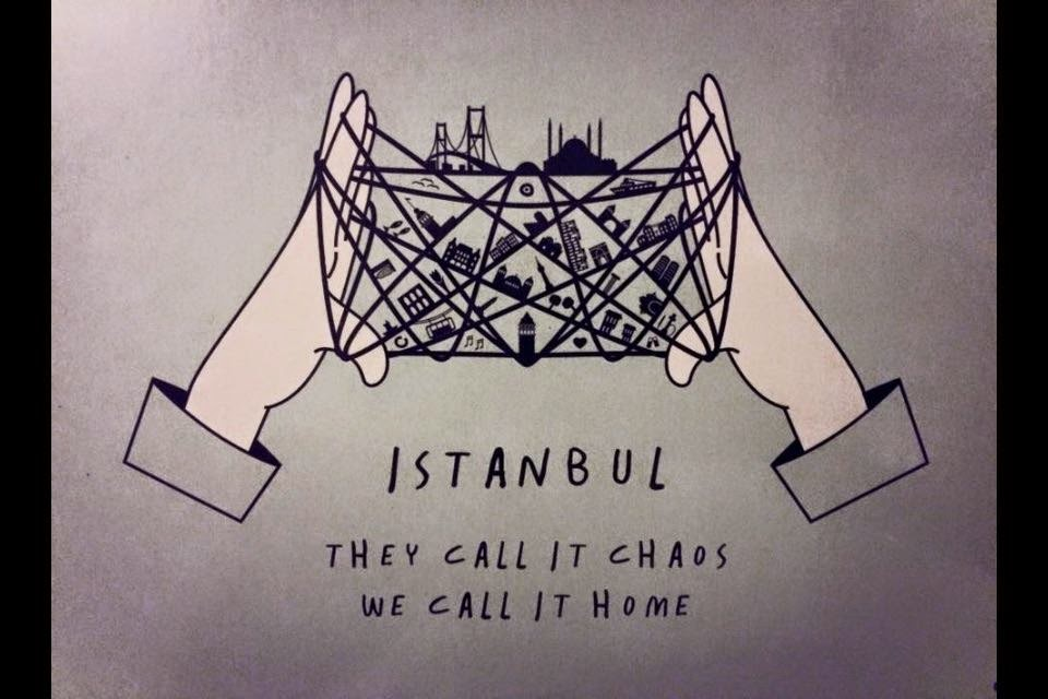istanbul, they call it cahos we call it home