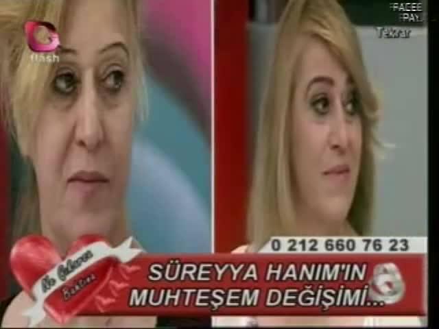 süreyya hanımın müthiş değişimi flash tv