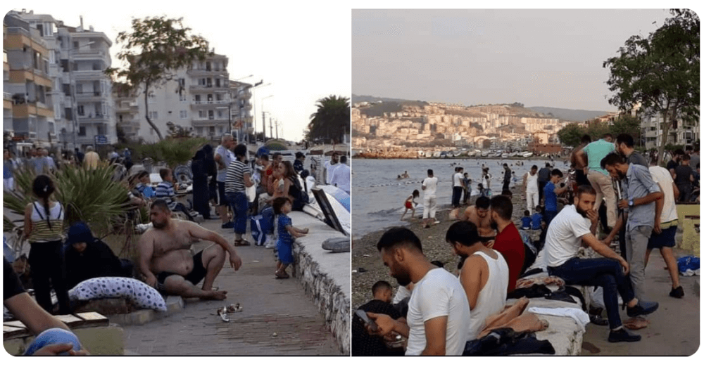 Bursa Mudanya Sahili Suriyeliler