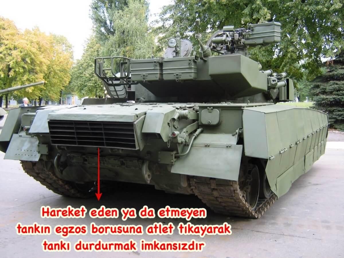 tank egzozu