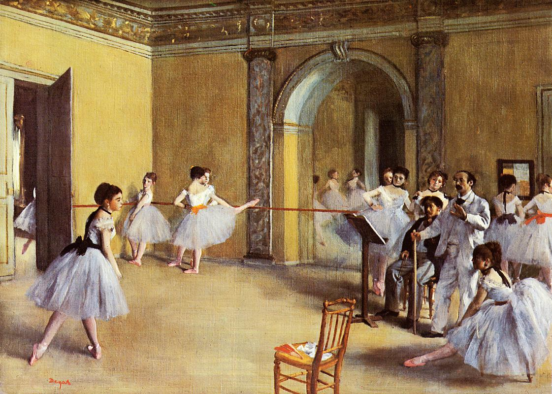 113 dance class at the opera 1872
